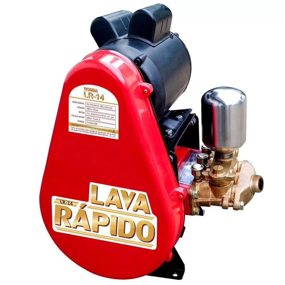 LAVADORA LR14 MONO 220V COMPLETA -  ZM BOMBAS