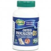 Ósteo Procalcium D3 Unilife Vitamins 90 caps