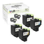 Toner Compatível Lexmark [80C8SY0] Yellow - Impressoras: CX310/CX410/CX510 - 2.000 Páginas - Cartucho & Cia.