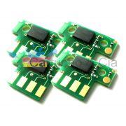Chip compatível com Lexmark [71B4HY0] Yellow CX417/517 3.500 Páginas - Cartucho & Cia