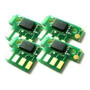 Chip compatível Lexmark [70C8HC0] Cian - Impressoras: CS310/410/510 - 3.000 Páginas - Cartucho & Cia