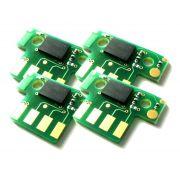 Chip compatível Lexmark [71B4HY0] Yellow - Impressoras: CS417/517 - 3.500 Páginas - Cartucho & Cia