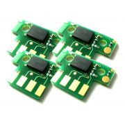 Chip compatível Lexmark [71B4HY0] Yellow - Impressoras: CX417/517 - 3.500 Páginas - Cartucho & Cia