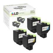Toner compatível Lexmark [71B40C0] Ciano - Impressoras CS317/417/517 - 2.300 Páginas - Cartucho & Cia