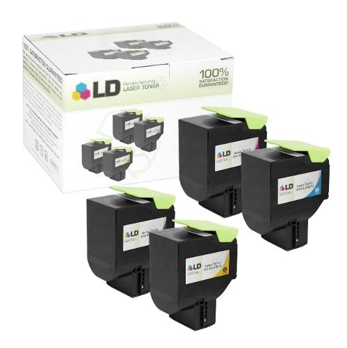 Toner Lexmark [80C8XK0] Black - Impressoras: CX410/CX510DN - 2.500 Páginas - Cartucho & Cia