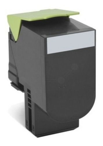 Toner Compatível Lexmark [70C8HK0] CS510dn Preto 8.000 Páginas - Cartucho & Cia.