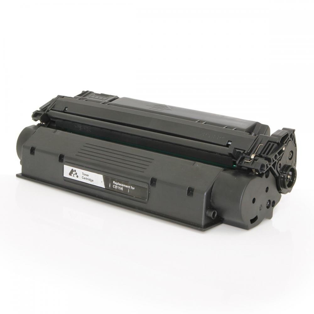 Toner Compatível HP C7115/2613X Universal utilizado nos seguintes modelos: HP Laserjet 1000, 1200, 1200N, 1200SE, 1220, 1220SE, 3300, 3320, 3330, 3380, 3310, 3320N- 4.500 Páginas- Cartucho & Cia