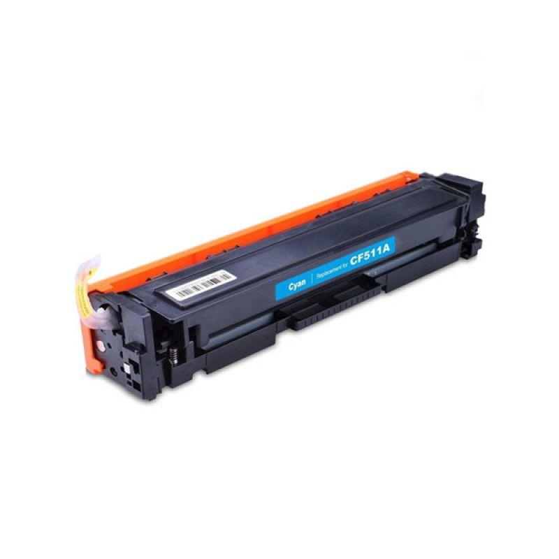 Toner Compatível com HP CF 510A 204A, CF 530A 205A  Black para utilização em equipamentos HP Color LaserJet Pro M154, M180, M181, M154A, M154NW, M180N, M180NW, M181FW - 900 Páginas - Cartucho & Cia