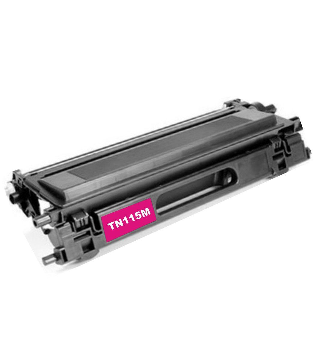 Toner Compatível BROTHER TN115-MAGENTA (HL4040/TN) 4.000 Páginas - Cartucho & Cia