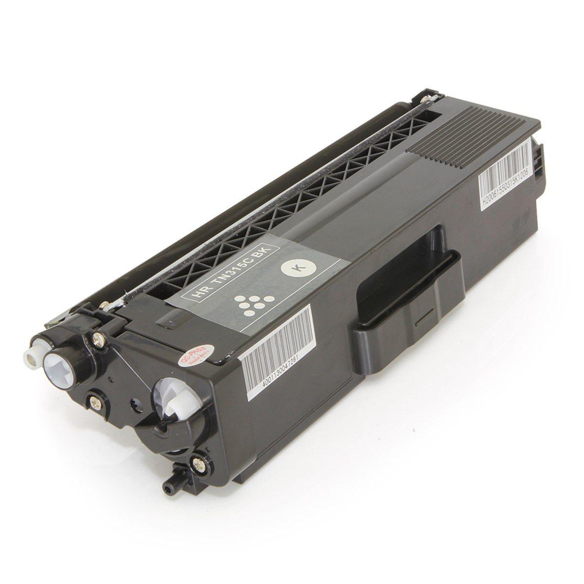 Toner compatível com BROTHER TN315 TN315BK Black 2.500 Páginas - Cartucho & Cia