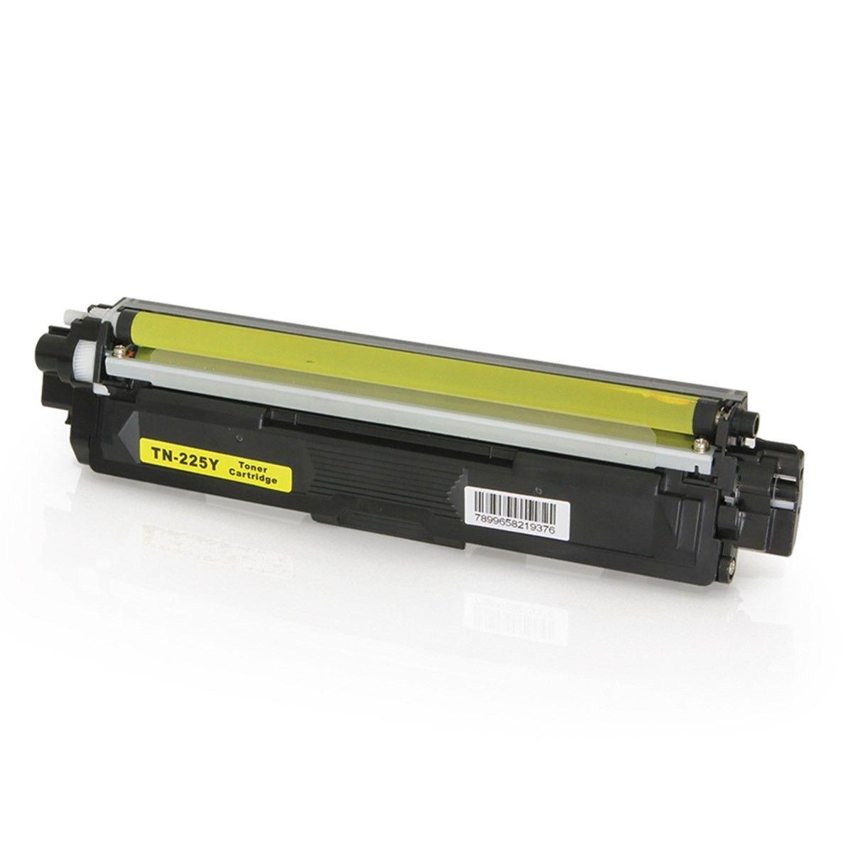 Toner compatível com BROTHER TN-225Y TN225 HL3170 MFC9130 HL3140 MFC9020 Yellow 2.200 Páginas - Cartucho & Cia