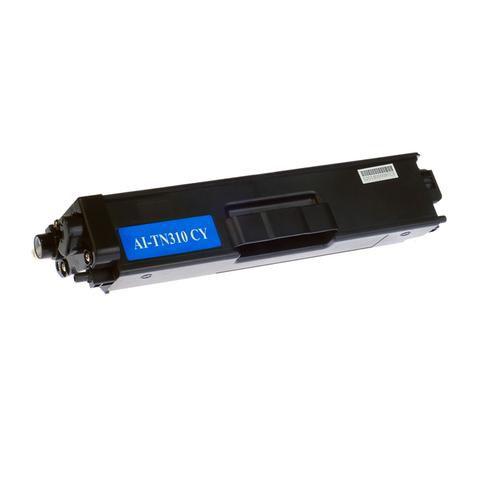 Toner Compatível com Brother TN-310 TN-310C - Ciano - HL-4150CDN HL4150 HL-4150, HL-4570CDW HL4570 HL-4570, MFC-9460CDN MFC9460 MFC-9460, MFC-9560CDW MFC9560 MFC-9560 - 1.500 Páginas - Cartucho & Cia