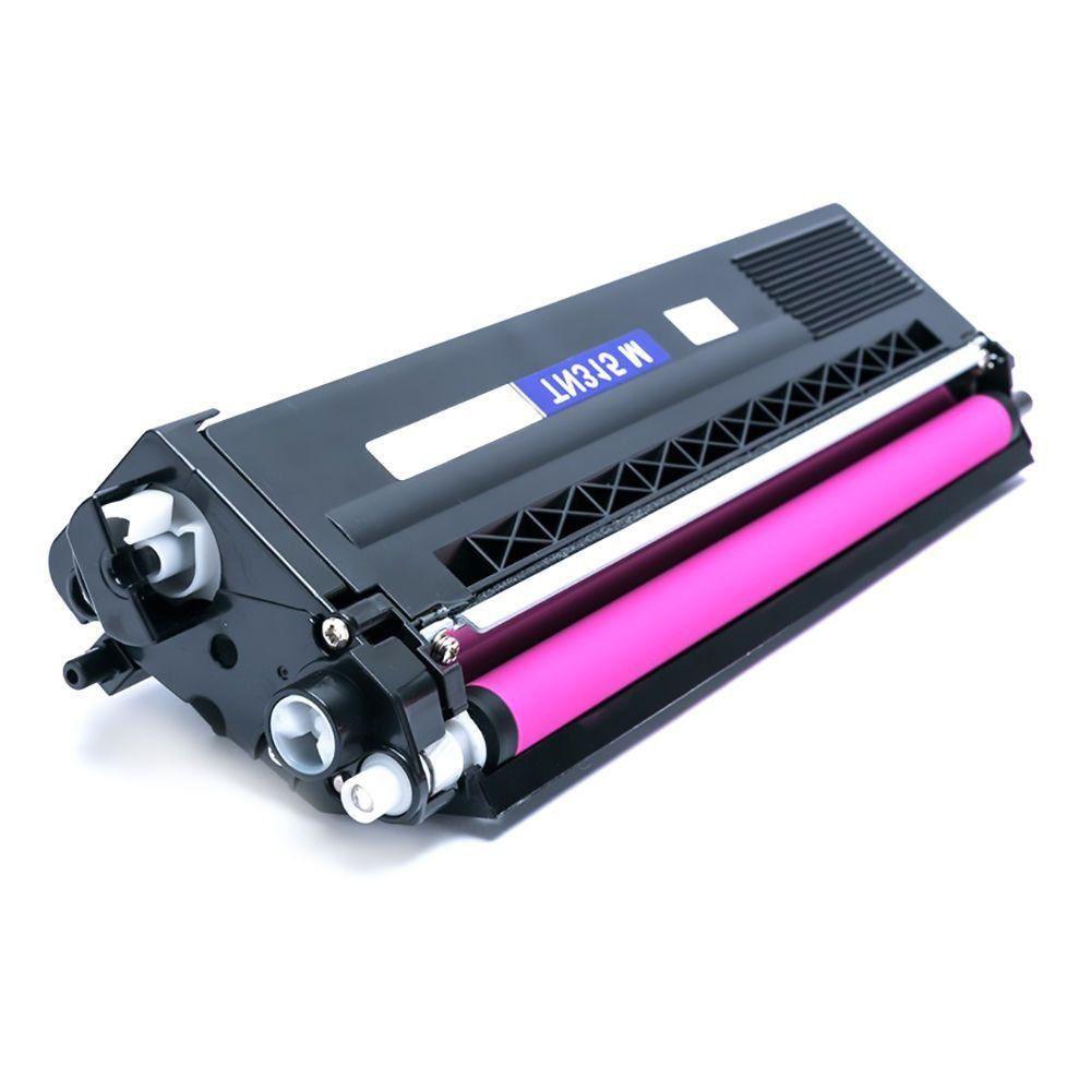 Toner Compatível com Brother TN-310 TN-310M MFC-9560CDW MFC9460CDN HL4150CDN HL4570CDW  Magenta 1.500 Páginas - Cartucho & Cia