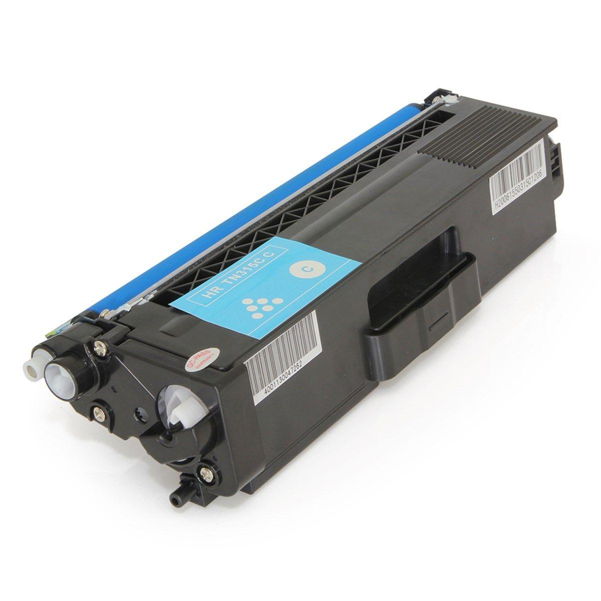 Toner Compatível com Brother TN316C TN-316 Ciano 3.500 Páginas - Cartucho & Cia