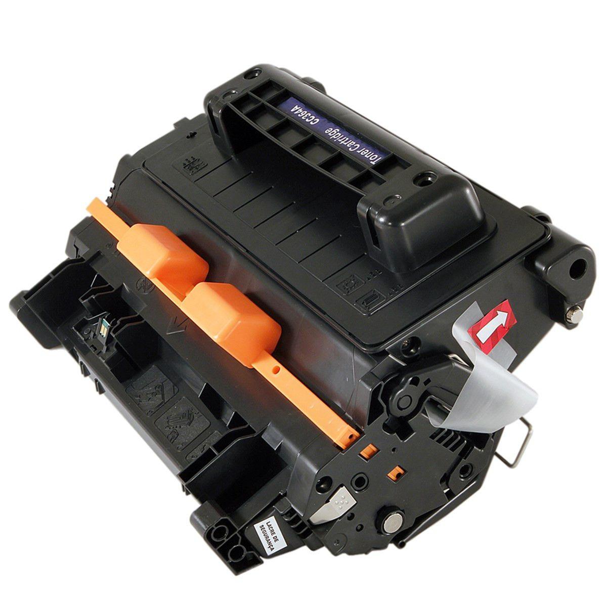 Toner compatível com HP CC364A CE390A 10.000 Páginas - Cartucho & Cia
