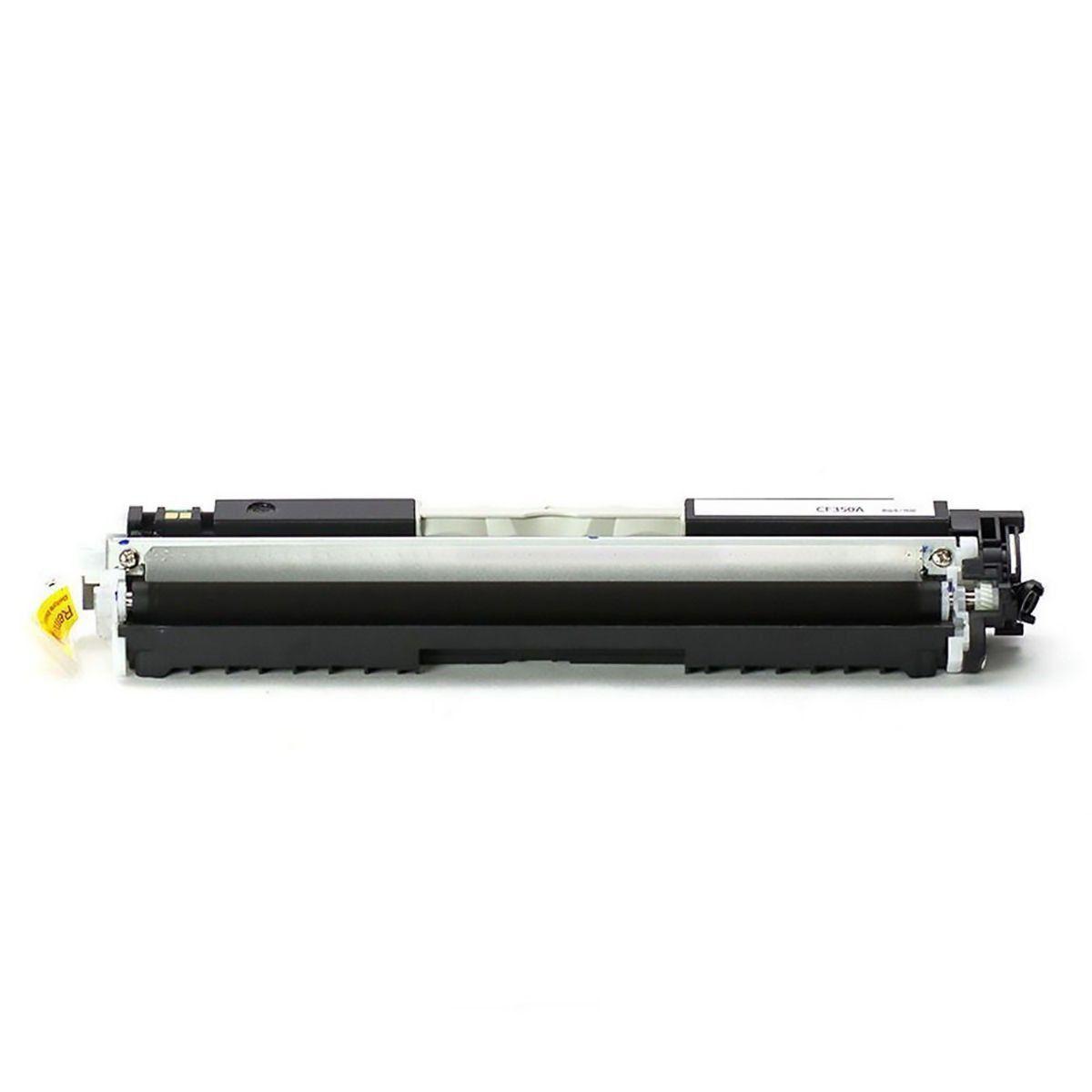 Toner compatível com HP CE310A UNIVERSAL 310A 126A CP1020 CP1020WN CP1025 M175A Black 1.200 Páginas - Cartucho & Cia
