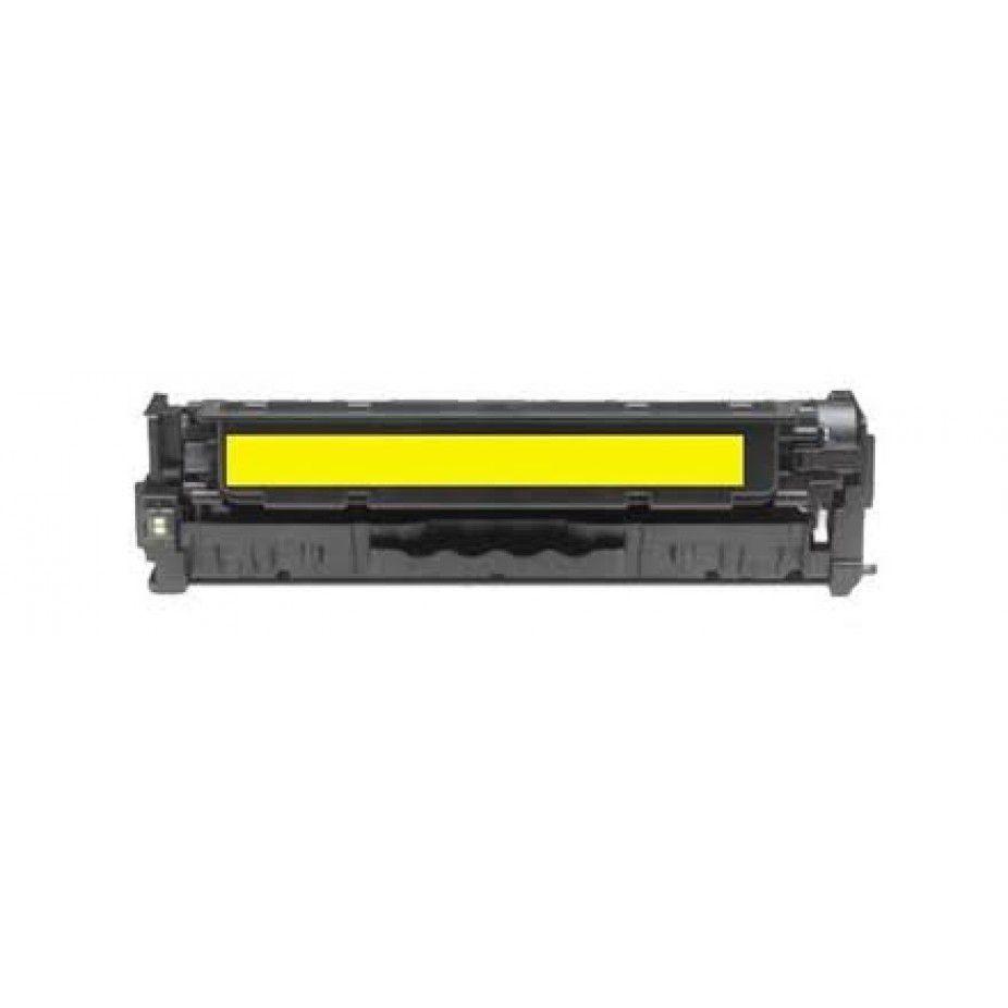 Toner Compatível com HP Universal CF-352A CF352 CF-352 52A 130A Yellow 130A | M176N M177FW M176 M177 - 1.000 Páginas - Cartucho & Cia