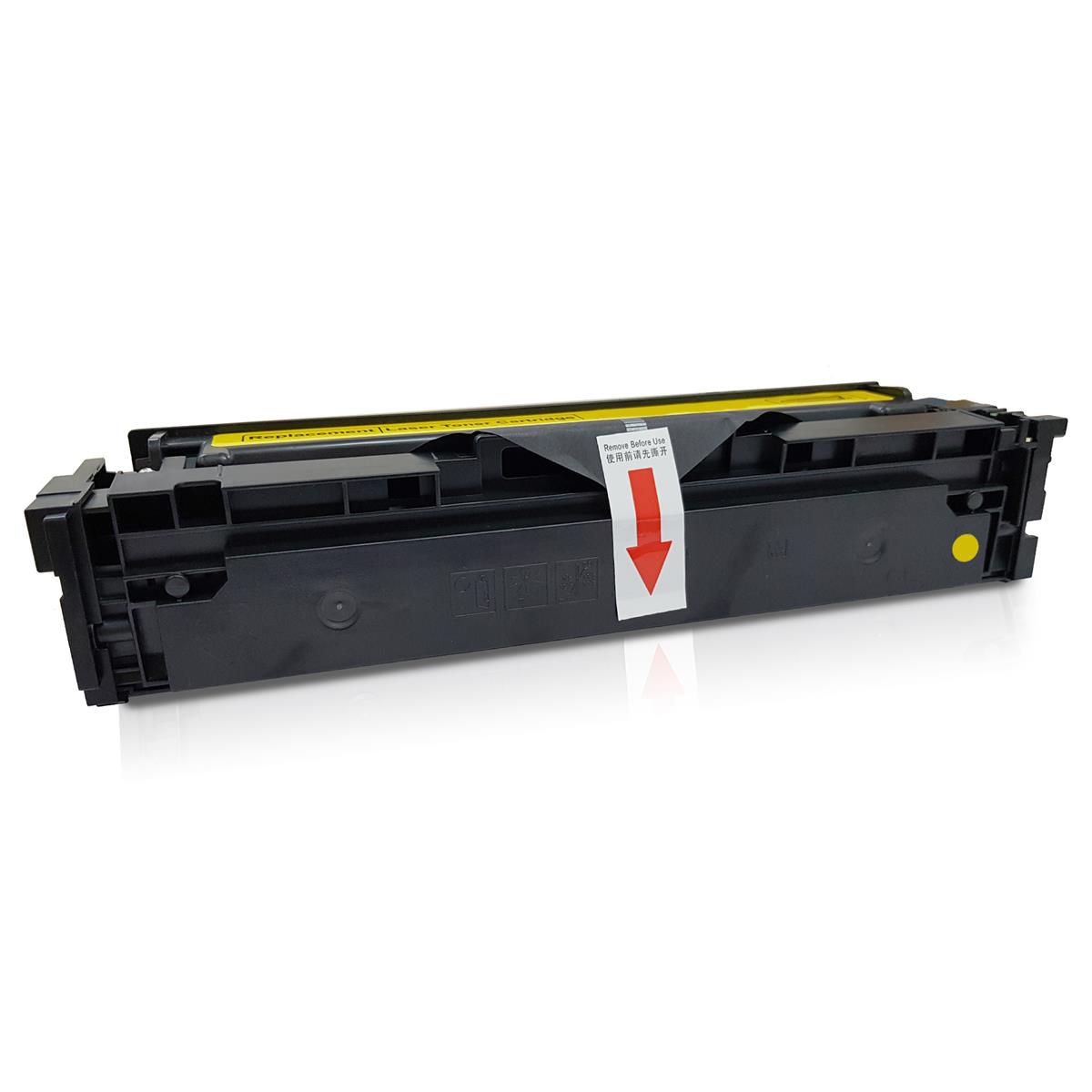 Toner compatível com HP CF503 Yellow - M254/281 - 1.300 Páginas - Cartucho & Cia