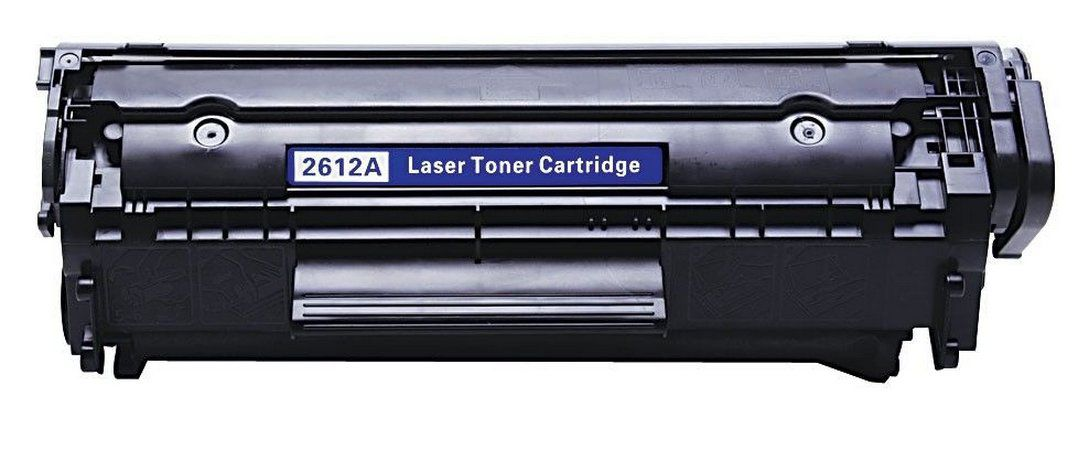 Toner Compatível com HP Q-2612A Q-2612 12A | 1010 1012 1015 1018 1020 1022 3015 3030 3050 | 2.000 Páginas - Cartucho & Cia