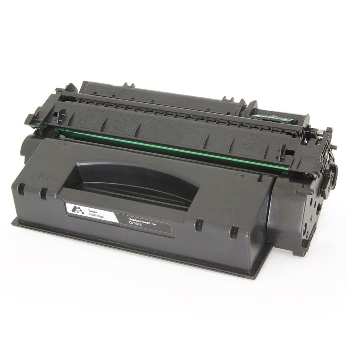 Toner Compatível com Hp Q5949X / 7553X - Para utilização em HP 1160, HP 1320, HP 1320B, HP 3390, HP 3392| 7.000 Páginas - Cartucho & Cia