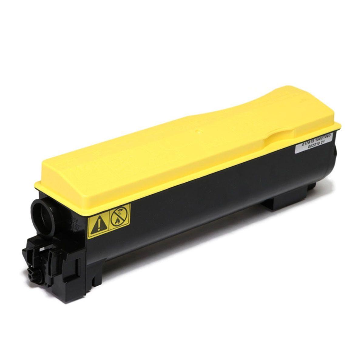Toner compatível com KYOCERA TK-562Y FS C5300 FS C5300DN FS C5350 FS C5350DN Yellow 10.000 Páginas - Cartucho & Cia