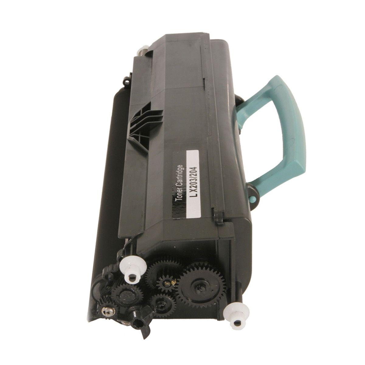 Toner compatível com Lexmark X203 X204 X204N X203N X203A11G Black 2.500 Páginas - Cartucho & Cia
