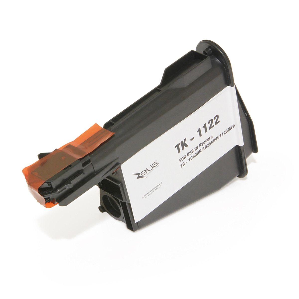 Toner compatível com KYOCERA TK1122 FS1060 FS1025 FS1125 1060DN 1025MFP 1125MFP 3.000 Páginas - Cartucho & Cia