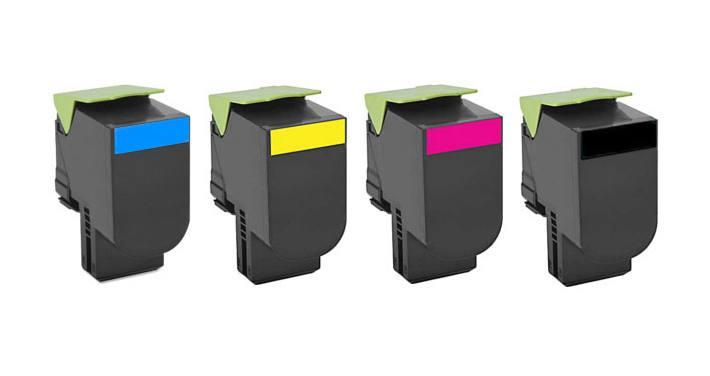 Toner compatível com Lexmark [71B40K0] CX417DE CS417DN CX417 CS417 417DE 417DN Black 3.000 Páginas - Cartucho & Cia