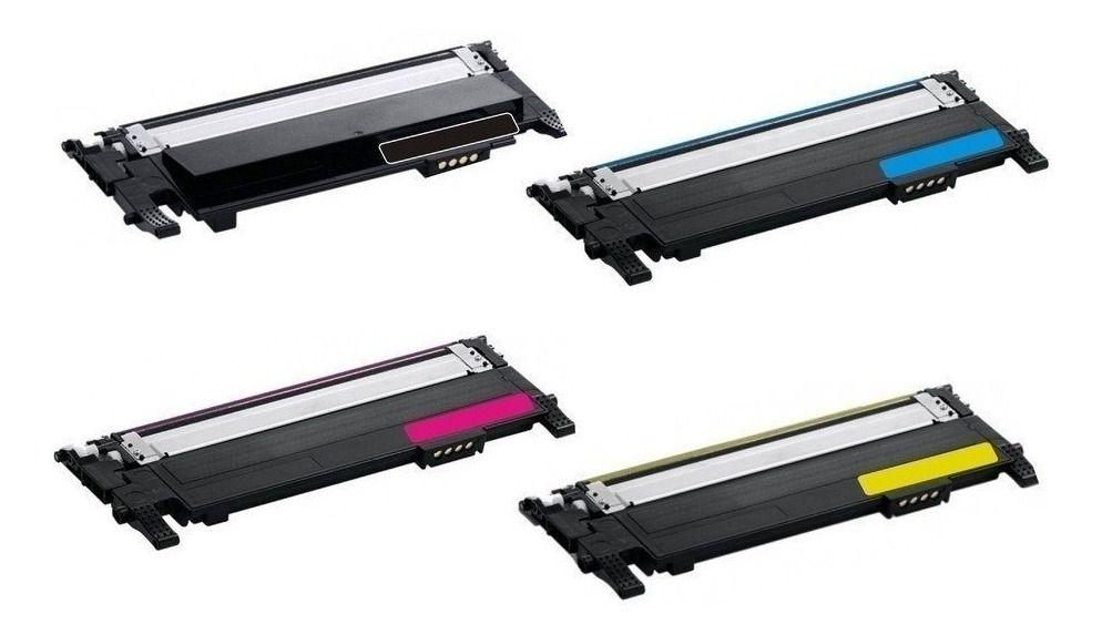 Toner compatível SAMSUNG CLT-C404S CLT-404S Ciano | C430 C480 C430W C480W C480FW - 1.000 Páginas - Cartucho & Cia