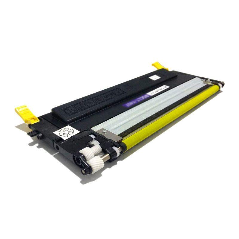 Toner comaptível SAMSUNG CLT-Y407S 407S Amarelo - CLP320N CLP325W CLX3185N CLX3185 CLP320 - 1.000 Páginas - Cartucho & Cia