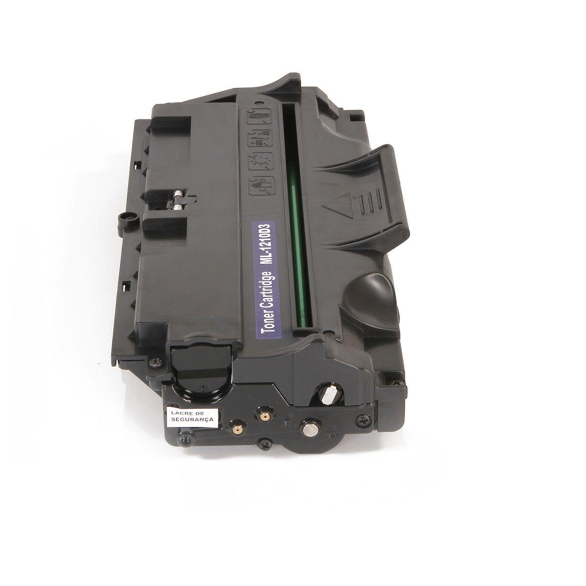 Toner compatível SAMSUNG ML1210D3   ML1010 ML1020M ML1210 ML1220M ML1250 ML1430 3.000 Páginas - Cartucho & Cia