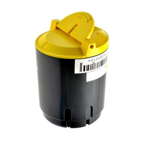 Toner compatível XEROX PHASER 6110 6110N 6610MFP Amarelo - 106R01203 - 1.000 Páginas - Cartucho & Cia