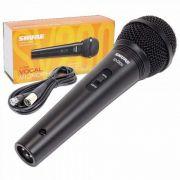 Microfone SHURE de Mão Com Fio SV200