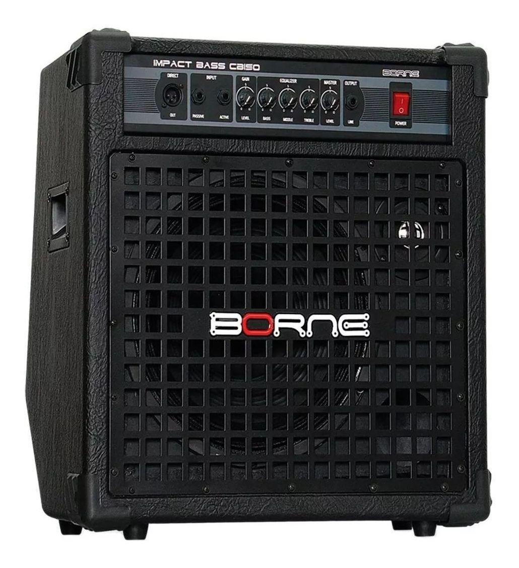 """Cubo Amplificador Baixo Borne Cb150 12"""" 150w"""