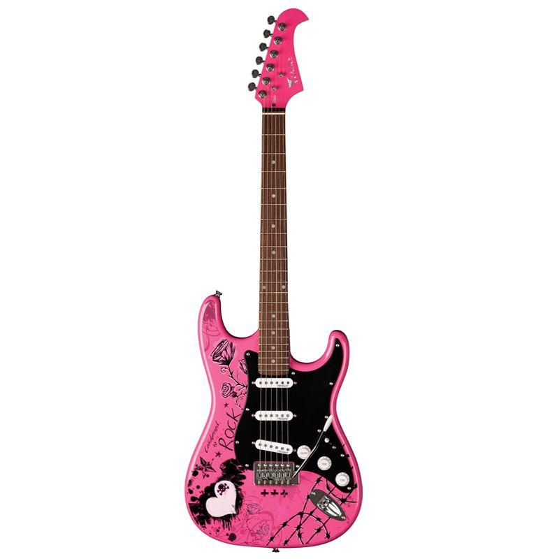 Guitarra Stratocaster Eagle EGP 10 - CR