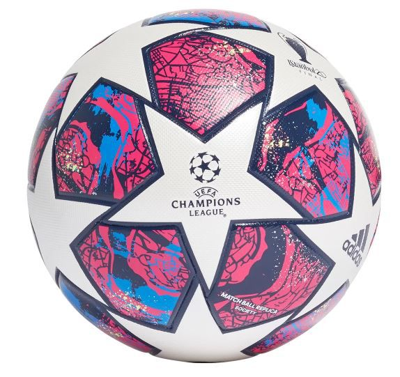 BOLA DE FUTEBOL SOCIETY ADIDAS UEFA CHAMPIONS LEAGUE MATCH BALL REPLICA FINAL ISTANBUL 20 - BRANCO