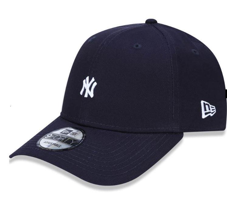 BONÉ 940 NEW YORK YANKEES MLB ABA CURVA SNAPBACK MINILOGO  NEW ERA - MARINHO