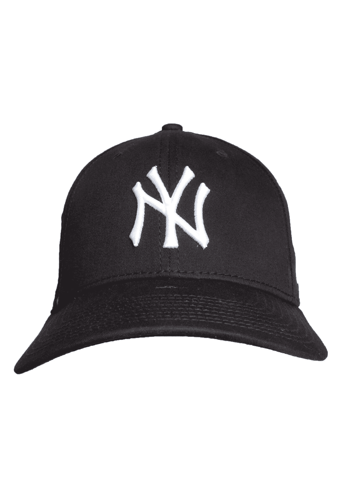 BONÉ 3930 HIGH CROWN MLB NEW YORK YANKEES - PRETO E BRANCO
