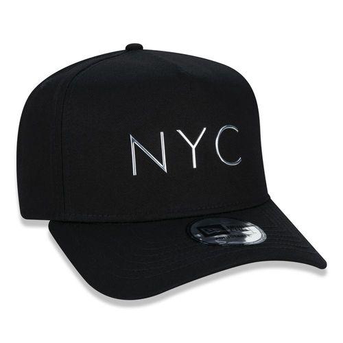BONÉ 940 K-FRAME NYC - PRETO E PRATA
