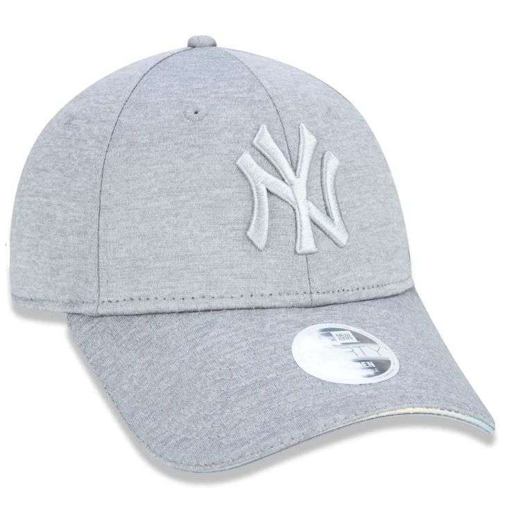 BONÉ FEMININO 940 NEW YORK YANKEES IRIDESCENT - CINZA