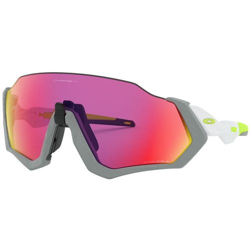OCULOS OAKLEY FLIGHT JACKET MATTE FOG PRIZM ROAD
