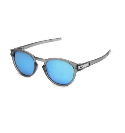 OCULOS OAKLEY LATCH GREY INK SAPPHIRE IRIDIUM POLARIZED