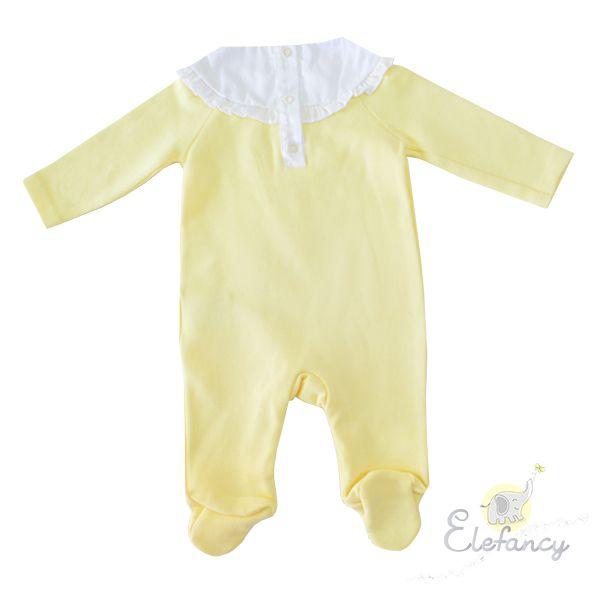 Macacão tricothink yellow