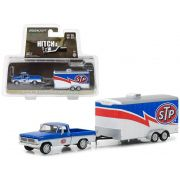 1970 Ford F-100 and Enclosed Car Trailer - STP Racing - 380609