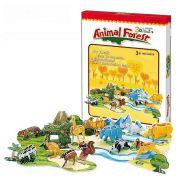 Animal Forest 3D - 71 Peças B2 - 251922