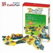 Dinosaur World 3D - 88 Peças  B2  - 251917