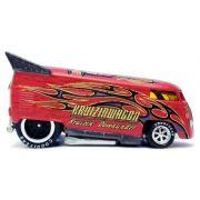 HW Liberty Kruizinwagon 2 - Red VW Drag Bus - 344876