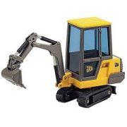 Mini Escavadeira JCB 801 Digger Caixa com Driver - 345049