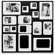 Mural multi-fotos Preto e Branco - 276620