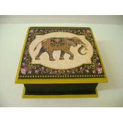Porta Jóias Indiano Elefante